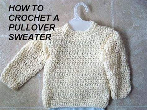 how to sweater unisex pullover sweater how to crochet clothing adults