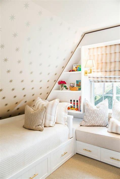 chambre cottage kinderzimmer mit dachschräge 29 tolle inspirationen für sie