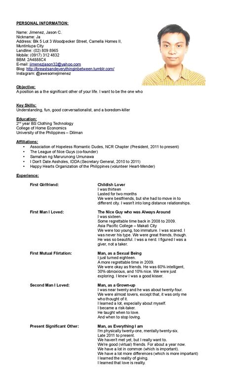 Free Resume Application by Application Resume Free Excel Templates