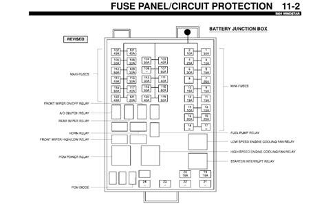wiring diagrams   manual ebooks  ford windstar