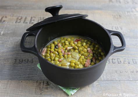 comment cuisiner les petit pois recette de petits pois petits pois 224 la fran 231 aise