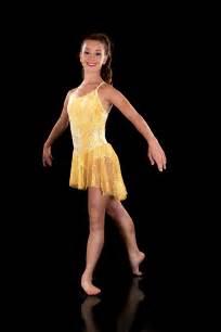 modern dress shine yellow gold costume lyrical dress ebay