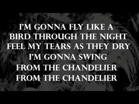 sia chandelier paroles lyrics