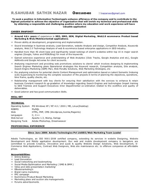 21013 exles of the resume seo expert resume