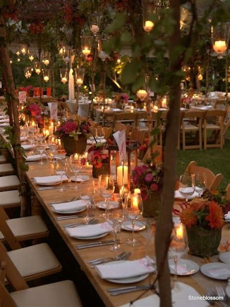 awesome outdoor fall wedding decor ideas a tables and chairs pi