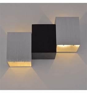 Applique Murale Led : applique murale led design triple chrome et noir terma ~ Melissatoandfro.com Idées de Décoration