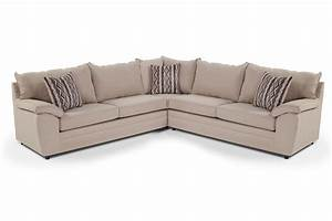 Saturn 3 piece innerspring sleeper sectional bob39s for 8 x 5 sectional sofa