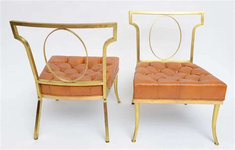 william quot billy quot haines slipper chairs at 1stdibs