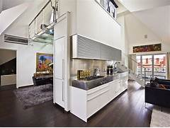 Interior Partition Ideas Deluxe Idea Loft Apartment Living Room Dining Partition
