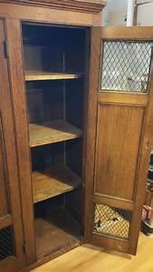Antique School Wooden Gym Lockers  U00ab Obnoxious Antiques