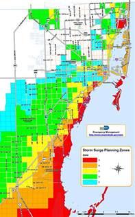 Florida Hurricane Evacuation Zone Map