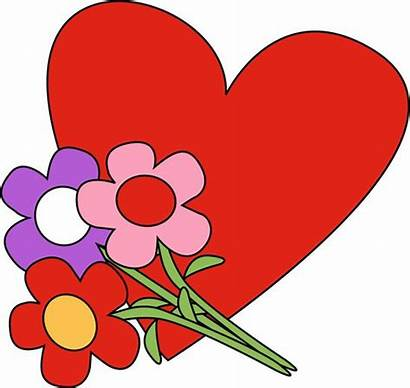 Happy Valentines Flowers Clipart Valentine Clip Flower