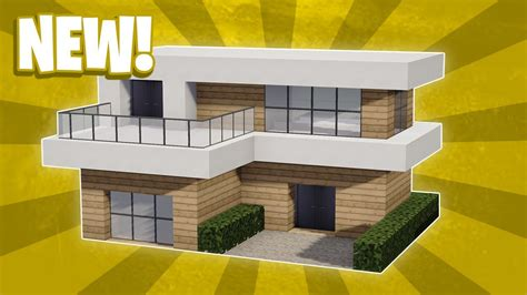 Modernes Haus Minecraft Klein by Minecraft How To Build A Small Modern House Tutorial