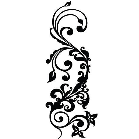 poser du carrelage mural cuisine stickers muraux design sticker mural design moderne fleuri ambiance sticker com