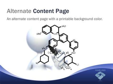 chemistry wave  powerpoint template  presentermediacom