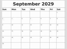 November 2029 Printable Calendars