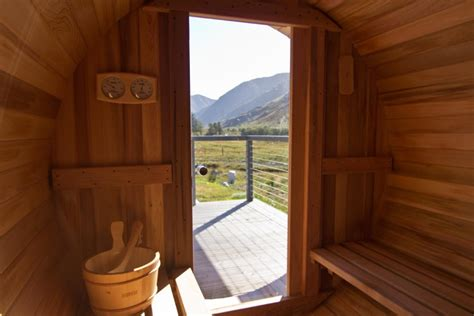 Cottages Scotland Tub by Tub Sauna Outdoors Innis A Chro Cottages