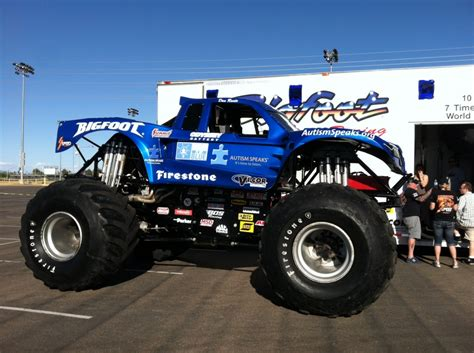 bigfoot 4x4 monster truck 7 awesome ways you went blue blog autism speaks