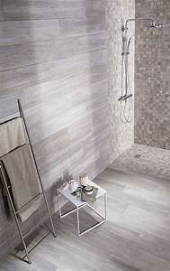 Carrelage Imitation Bois Salle De Bain : salle de bain des id es de c ramique ou fa ence tendance ~ Melissatoandfro.com Idées de Décoration