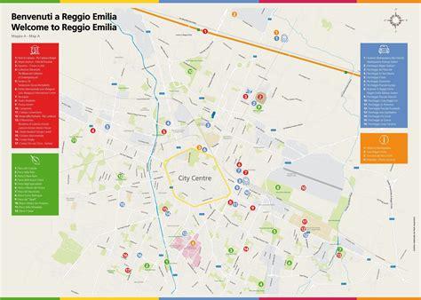 Ufficio Turismo Reggio Emilia - mappe citt 224 turismo reggio emilia