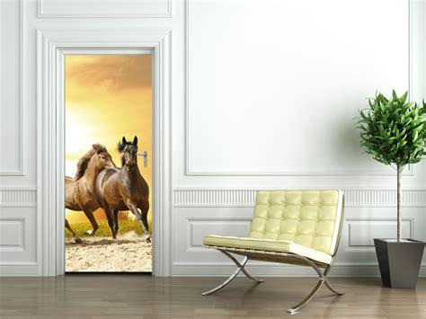 papier peint chevaux pour chambre stickers chevaux achetez vos stickers moins cher