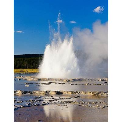Great Fountain Geyser Photograph by Greg Norrell