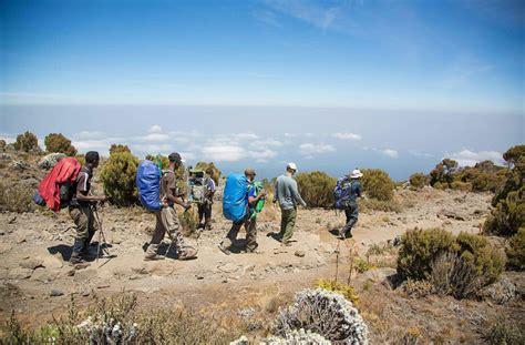 kilimanjaro mount climbing mt mountain hiking feet tour packages