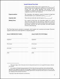 investor term sheet template - 8 investment agreement template sampletemplatess