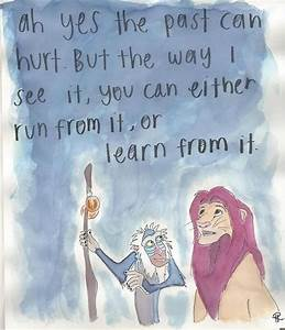 Life lessons from Disney. I love The Lion King! | Words to ...