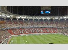 Dinamo Bucharest tifo pranked Steaua ahead of Man City game