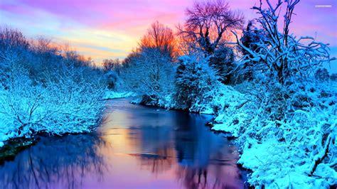 winter scenery wallpaper 183