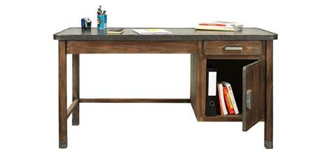 bureau metal et bois bureau en bois vieilli achetez nos bureaux en bois