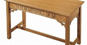 Communion Table woodworking Pinterest
