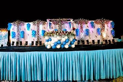 Birthday Party Innovative Decorations Open Ground Stage