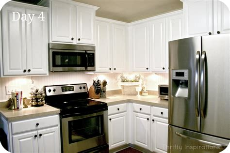 Cute White Kitchen Cabinets Home Depot  Greenvirals Style