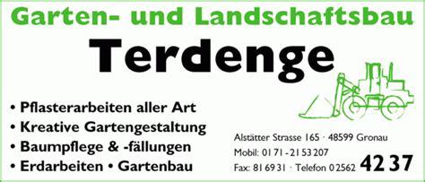 Garten Und Landschaftsbau Kreis Steinfurt by Landschaftsbau Terdenge Garten Und Landschaftsbau
