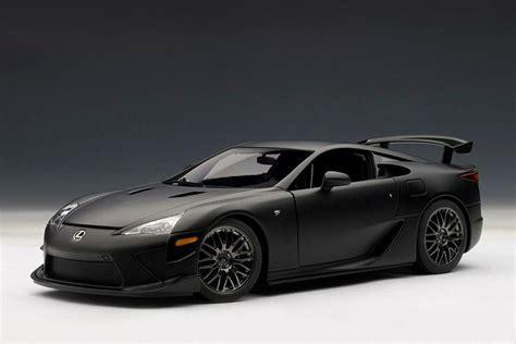 autoart  lexus lfa nurburgring edition matt black