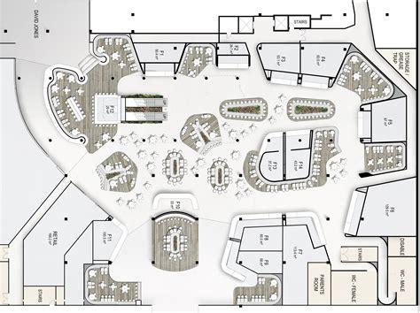 floor plans westfield food court design