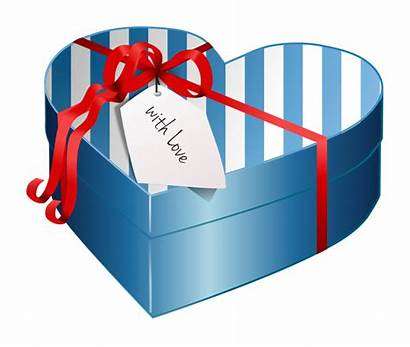 Gift Clipart Box Valentine Heart Wrapped Presents