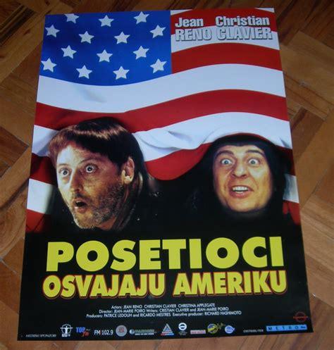 Posetioci osvajaju Ameriku (Jean Reno) - filmski plakat ...
