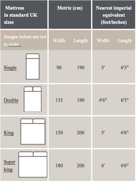 uk single bed size uk bed sizes 28 images mattress comparison chart uk