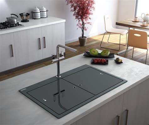 black granite kitchen sink black composite granite kitchen sink home decor