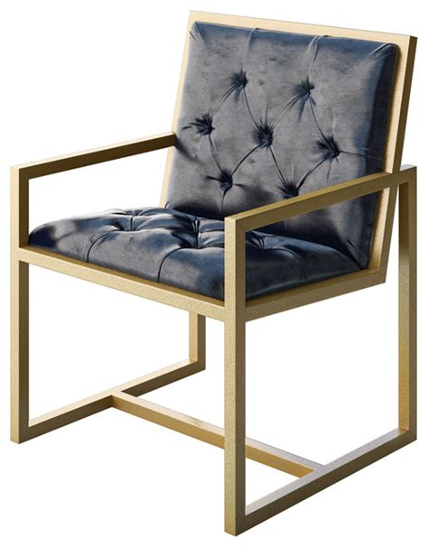 designer modern chair cole modern gold metal contemporary