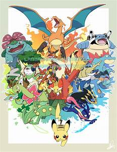 Pokemon 20th Anniversary! by Lanmana on DeviantArt