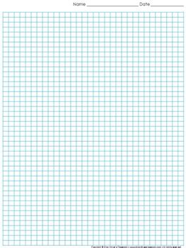 graph paper full page grid  centimeter squares