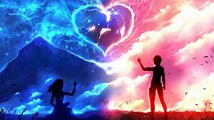Download Couple Anime Love Wallpaper for desktop, mobile ...