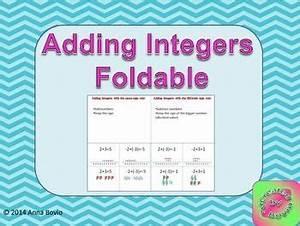 The 25+ best Integers foldable ideas on Pinterest ...