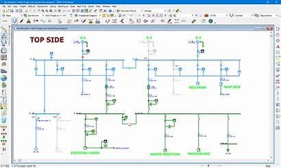 Diagram Electrical Marine Etap Line Single Network