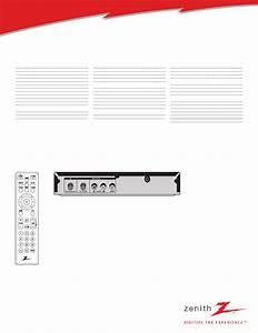 Zenith Dtt900 User U0026 39 S Manual