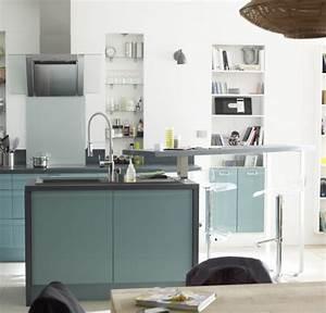 cuisine couleur pastel bleu clair ou vert clair blog With leroy merlin renovation cuisine